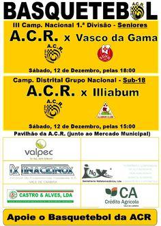 Basquetebol ACR > 12 Dezembro 2015 @ Pavilhão Municipal, Vale de Cambra
