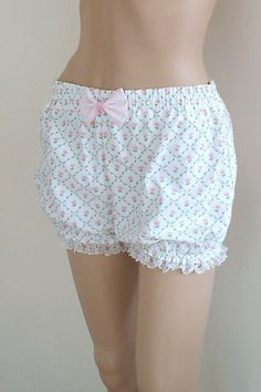 Laura Ashley Bloomers  Shorts Lingerie Pyjamas by LemonPippinLove, $30.00