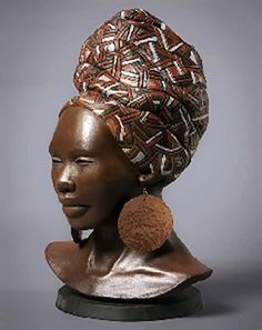 Lindy Lawler. African female bust