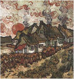 Vincent van Gogh. Cottages.