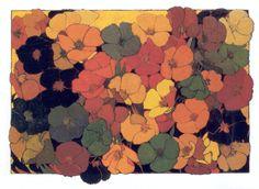 Lucia Matthews, California artist, 1870-1945 Poppy box, hand painted