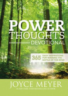 Based on Joyce Meyer's New York Times bestseller Power Thoughts, this devotional includes 365 opportunities to tap into God's power in your daily life by thinking and speaking His way. The POWER THOUG