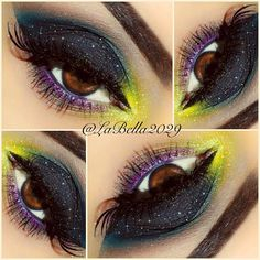 Colorful makeup - @labella2029