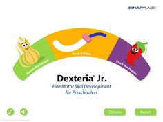 New Fine Motor iPad App for Preschoolers!: Dexteria Jr. Review of new app provided by pediatric occupational therapist.