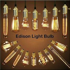Vintage Retro Filament Edison Antique Industrial Style Lamp Light Bulb E27 40W