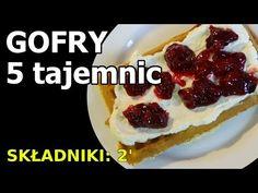 GOFRY - 5 tajemnic udanego pieczenia - YouTube Waffles, Cheesecake, Breakfast, Food, Youtube, Cooking, Morning Coffee, Cheesecakes, Essen
