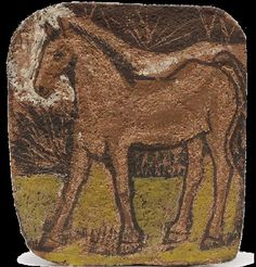 Pablo Picasso. Cheval. 1906 year