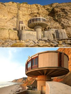 96 Of The Most Evil-Looking Buildings That Could Easily Be Supervillain Headquarters Interesting Buildings, Amazing Buildings, Old Buildings, Abandoned Houses, Abandoned Places, Travel Sights, Mushroom House, Unique House Design, Dream House Interior