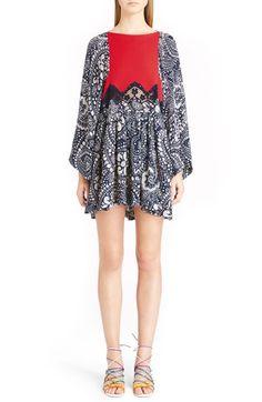 Chloé Daisy Chain Print Lace Inset Dress $2,495.00  #BestReviews #newarrivals #ClothingDesigner