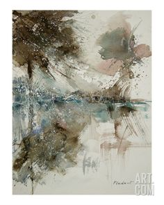 Watercolor 170306 Giclee Print by Ledent at Art.com