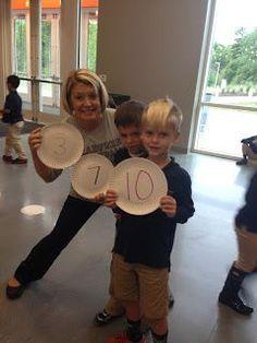 Super easy and FUN number bond game. All you need are paper plates, markers, and unifix cubes! Preschool Math, Math Classroom, Kindergarten Math, Teaching Math, Math Activities, Kindergarten Addition, Math Games, Teaching Ideas, Maths Fun