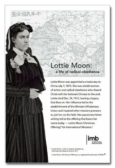 Lottie Moon Photo and Information - Downloadable Flier - IMB Resources