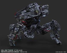 ArtStation - Buster Crab , Aaron Deleon