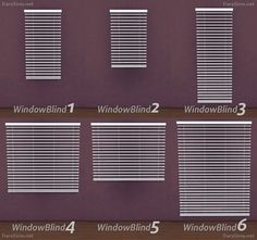 Dara Sims: Window blinds • Sims 4 Downloads