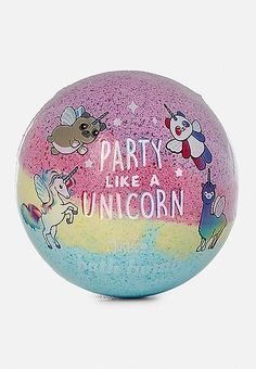 Party Like a Unicorn Bath Bomb | Justice