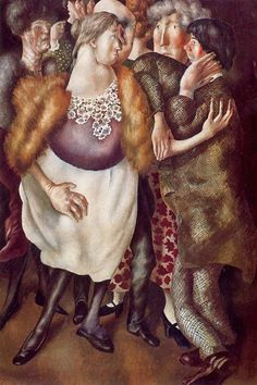 'The Beatitudes of Love (5): Contemplation' by English painter Stanley Spencer (1891-1959). Oil on canvas, 91.5 x 61 cm. Collection: Stanley Spencer Gallery. ty, it's about time. via BBC