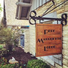 Spending the night at the charming Pere Marquette Lodge in Grafton, Illinois