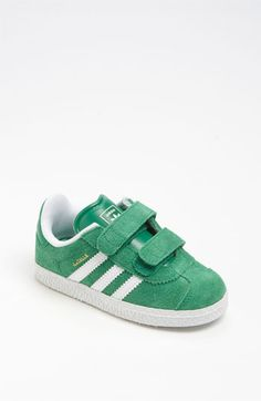 adidas 'Gazelle' Sneaker (Baby, Walker & Toddler) by nordstrom Toddler Boy Fashion, Baby Girl Fashion, Kids Fashion, Man Fashion, Fashion Outfits, Little Boy Outfits, Baby Boy Outfits, Kids Outfits, Adidas Gazelle