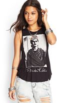 FOREVER 21 Frida Kahlo Muscle Tee