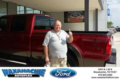 Happy Anniversary to Keith on your #Ford #Super Duty F-250 SRW from Johnie Thomas at Waxahachie Ford!  https://deliverymaxx.com/DealerReviews.aspx?DealerCode=E749  #Anniversary #WaxahachieFord