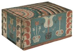 antique Folk Art Box