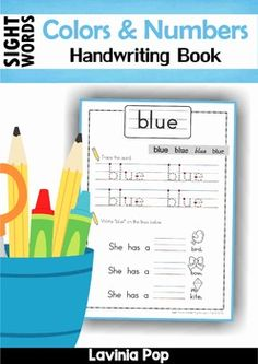 This book contains a collection of color and number word worksheets intended to be used with children in Kindergarten (Prep) and Grade 1.