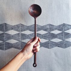.@arielealasko | Made a really big walnut spoon! // Thinking of posting it on the shop with a ... | Webstagram