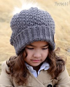 630f0a16dcb Crochet Hat PATTERN Snuggle Up Slouchy crochet pattern for Crochet Slouchy  Hat
