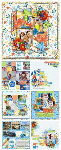 Make a Splash collab by Zoe Pearn & Jady Day Studio - available at Sweet Shoppe Designs