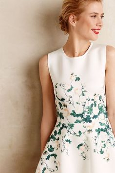 Sweetheart Roses Dress - anthropologie.com #anthrofave