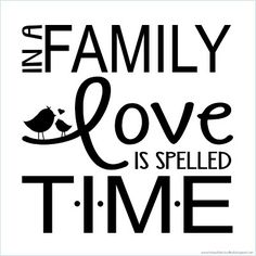 Today's Fabulous Finds: 'In a Family Love is Spelled T-I-M-E' Quote Plate