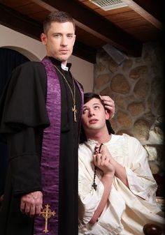 gay Priest actor porn