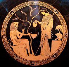 Афина и Геракл