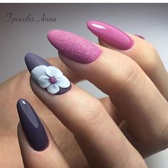 9 Secrets About Flower Nail Art 9 That Has Never Been Revealed For The Past 9 Ye. - 9 Secrets About Flower Nail Art 9 That Has Never Been Revealed For The Past 9 Years Flower Nail Art 9 - Nail Art Designs, Elegant Nail Designs, Elegant Nails, Acrylic Nail Designs, Acrylic Nails, Floral Designs, Bright Summer Nails, Spring Nails, Cute Nails