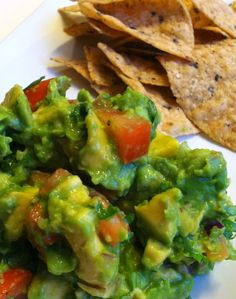 made fresh chunky spicy guacamole