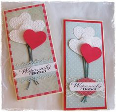 kartki na dzień babci Roses Valentines Day, Valentine Crafts, Personalised Christmas Decorations, Diy Christmas Ornaments, Diy And Crafts, Crafts For Kids, Paper Crafts, Homemade Christmas Gifts, Homemade Gifts
