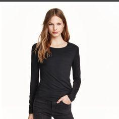 Long sleeve T-shirt Longsleeved T-shirt H&M Tops Tees - Long Sleeve