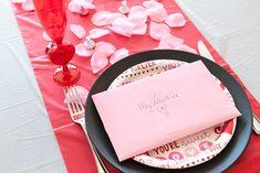 Dollar store Valentine's Day breakfast for kids