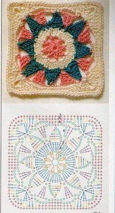 crochê ,pedaços formam uma linda colcha..