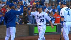 Royals plate two in 1st