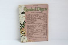 READER'S DIGEST, June 1944, vintage magazine, vintage lifestyle reading, vintage paper ephemera, vintage collectible, vintage keepsake