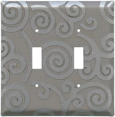 SPIRALS LOFT Switch Plates, Outlet Covers & Rocker Switchplates
