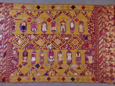 Phulkari from North India.