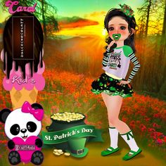 *******************💎VonMiller Agency💎******************************* ▂▃▅▇█▓▒░۩DulceChocolatt۩░▒▓█▇ KID BOW SAINT PATRICK http://es.imvu.com/shop/product.php?products_id=40649536 KID SP PACIFIER http://es.imvu.com/shop/product.php?products_id=40649581 KID MISS LUCKY CHARM TOP http://es.imvu.com/shop/product.php?products_id=40649484 KID SAINT PATRICK SKIRT http://es.imvu.com/shop/product.php?products_id=40649442 KID SAINT PATRICK SHOES http://es.imvu.com/shop/product.php?products_id=40649519