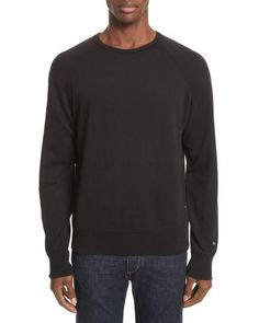 Image result for rag bone standard issue crewneck sweater black