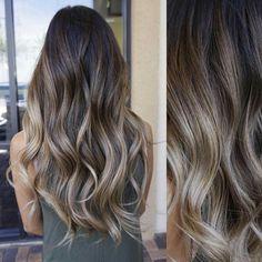 Hair (ash blonde hair dye products) - All For Hair Cutes Ash Blonde Hair Dye, Brunette Hair, Dark Hair, Long Hair Highlights, Hair Color And Cut, Balayage Hair, Hair Inspiration, Hair Cuts, Hair Beauty