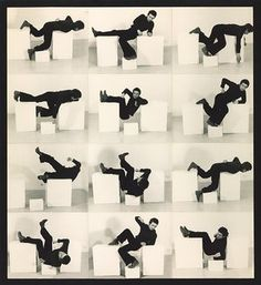 Bruce McLean Pose Work for Plinths 3, 1971. On show at Tate Britain.