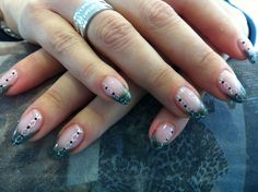 glitter french manicure vorige french | Nail Art Ideas