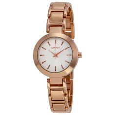 325b4a3a7f1ff DKNY Rose Gold Tone Stainless Steel Ladies Watch NY8833 - Watch Face - 1