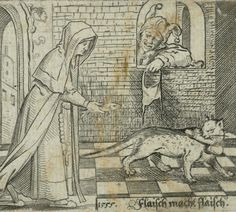 'Meat equals meat': Nun trades fish with cat for penis (@rijksmuseum,1555) HT @nikodimov